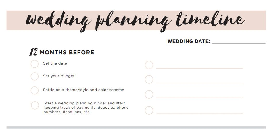 11 free printable wedding planning checklists free wedding checklist and more at botanical paperworks junglespirit Image collections
