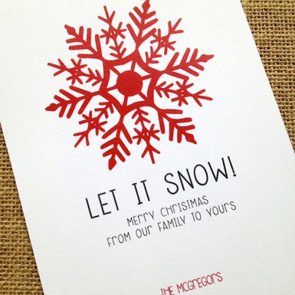 87 Free, Printable Christmas Cards to Send to Everyone
