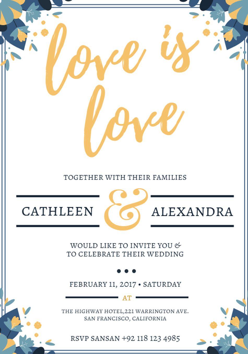 wedding card templates free printable 21gowedding com