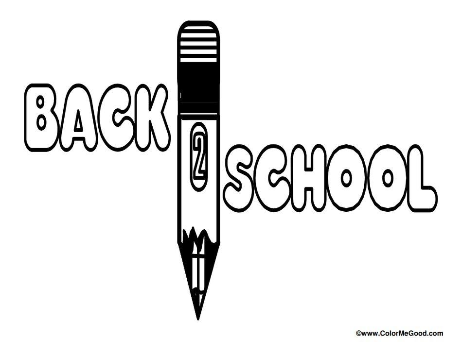 School Coloring Pages  blogcolormegoodcom