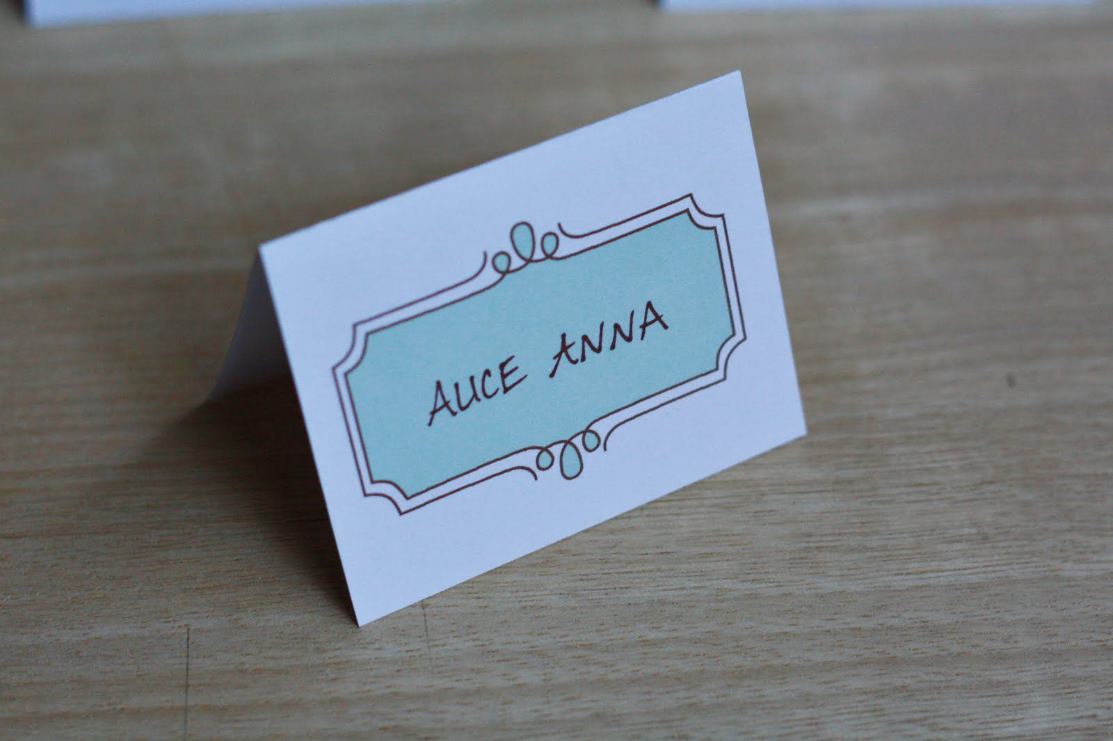 21 Free Wedding Place Card Templates Intended For Free Template For Place Cards 6 Per Sheet