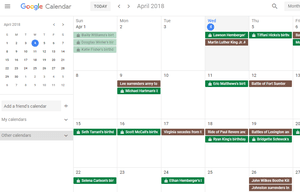 List of the best free online calendars screenshot of a google calendar month view in chrome solutioingenieria Image collections