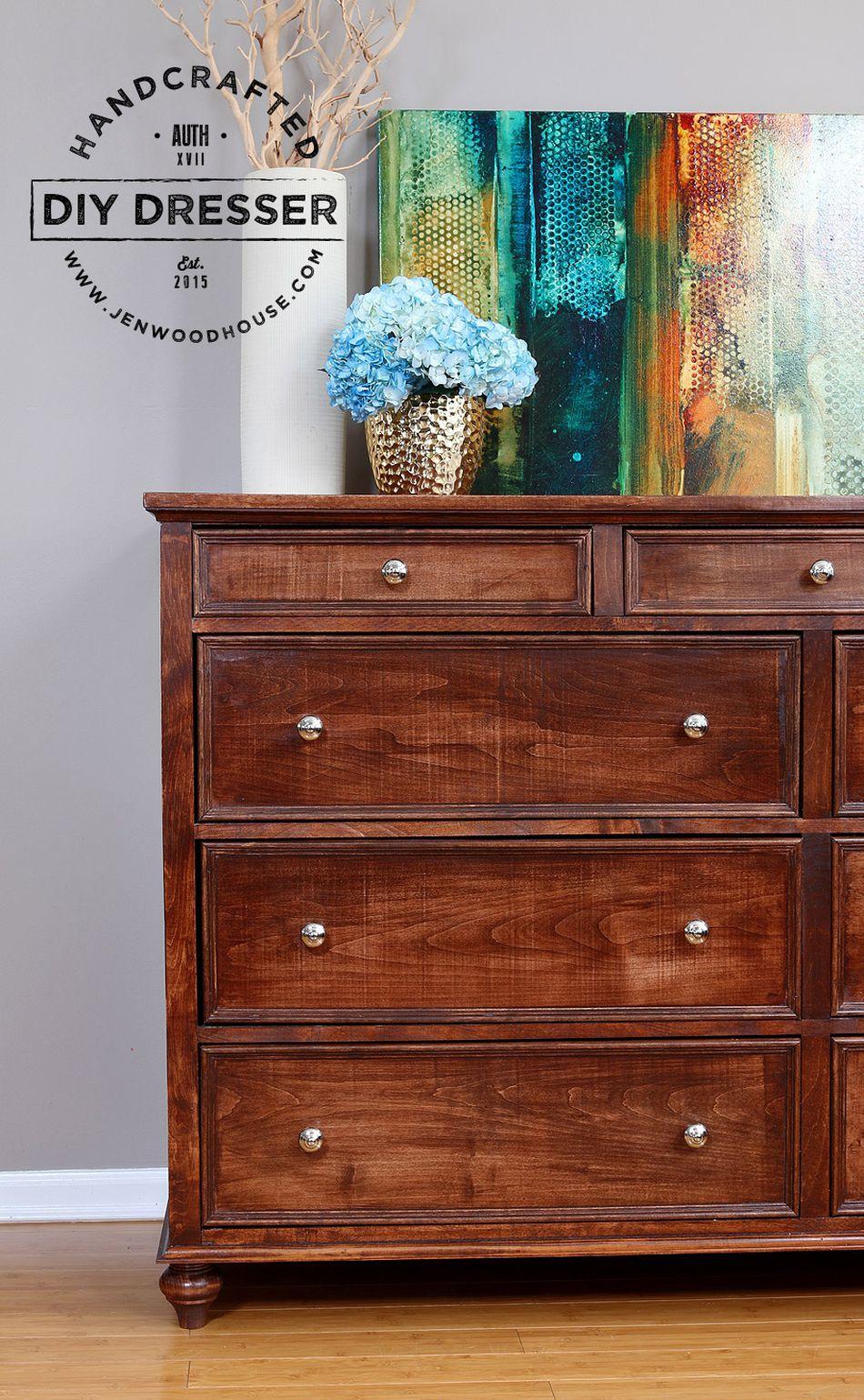 A DIY 11-drawer dresser