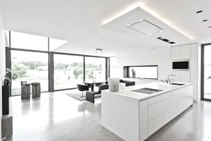Image of an open kitchen, illustrating About.com's House and Garden Sweepstakes.