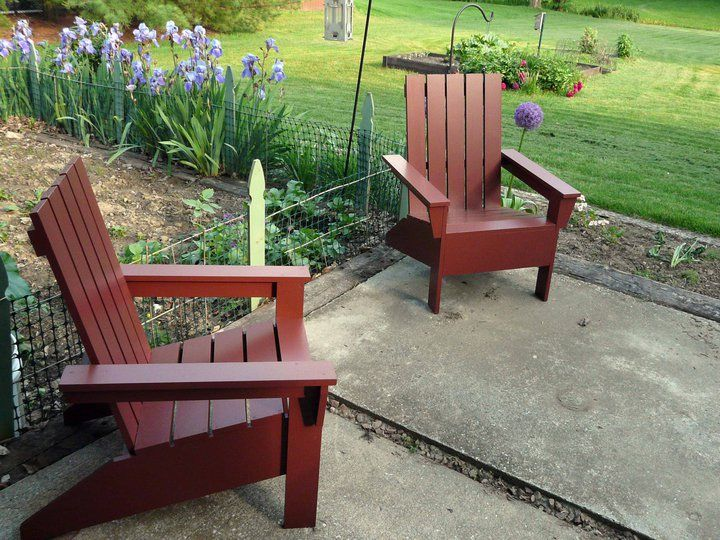 Well-liked 19 Free Adirondack Chair Plans You Can DIY Today VK93