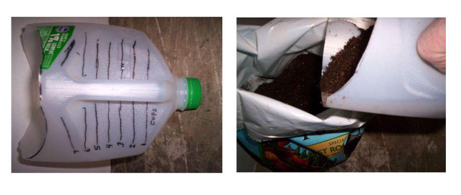 How to Make a Milk Jug Scoop