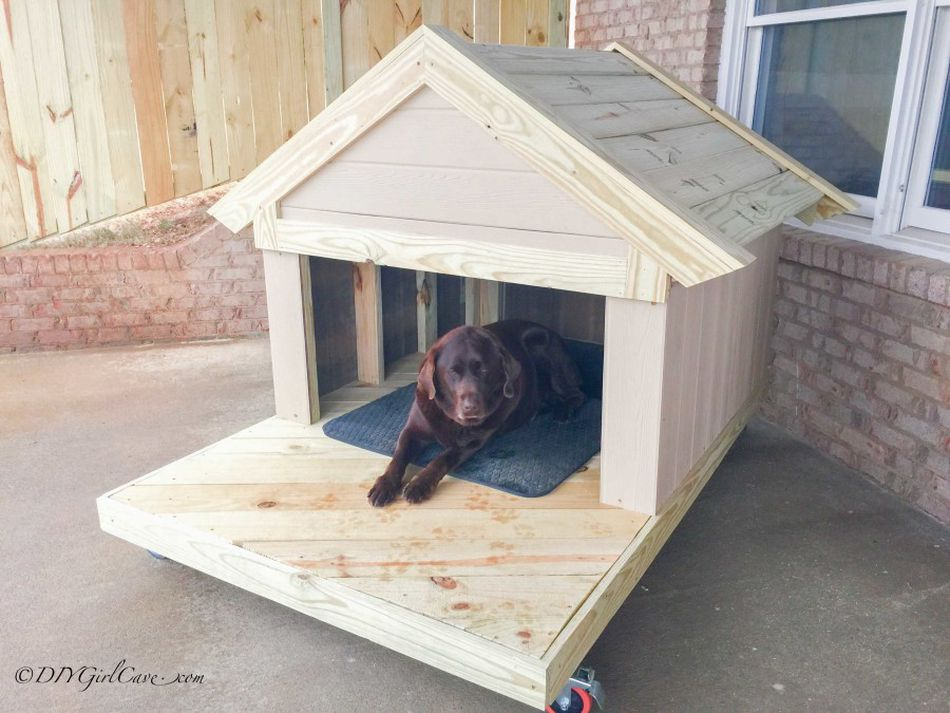 17 Free DIY Dog House Plans Anyone Can Build