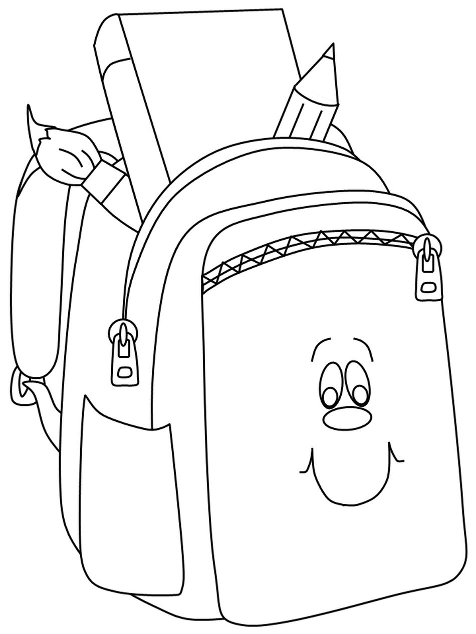 Back To School Coloring Pages At Coloringws