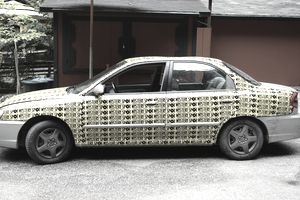 Wrapped Car