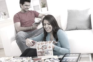 Clipping Newspaper Coupons