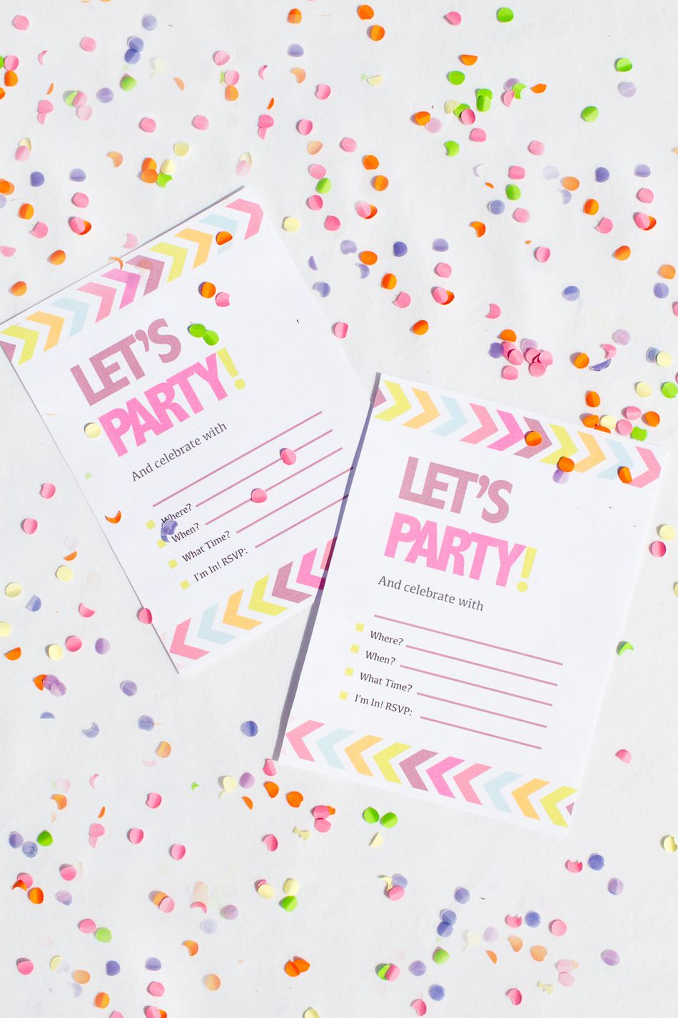 9 Free, Printable Bachelorette Party Invitations