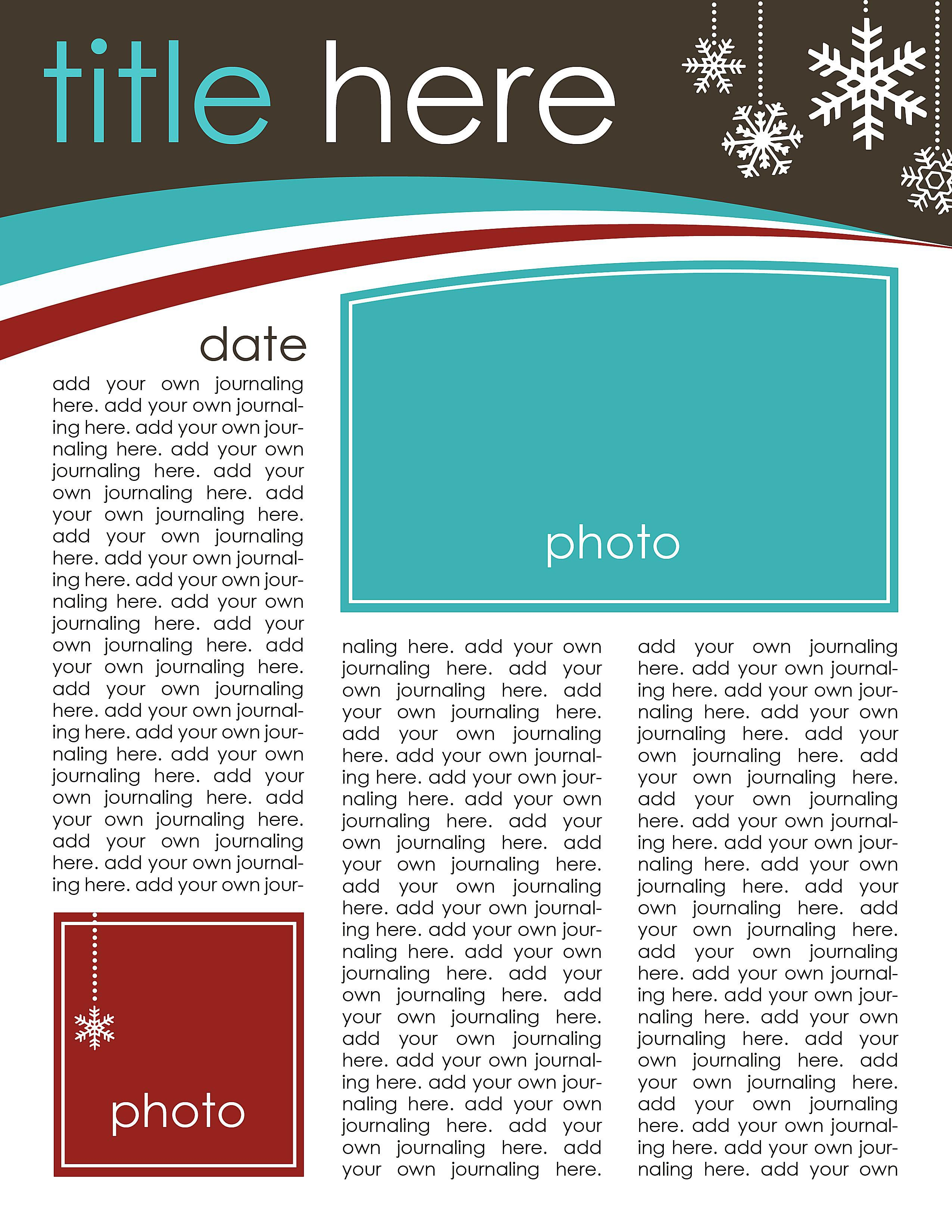 49 Free Christmas Letter Templates That You\'ll Love