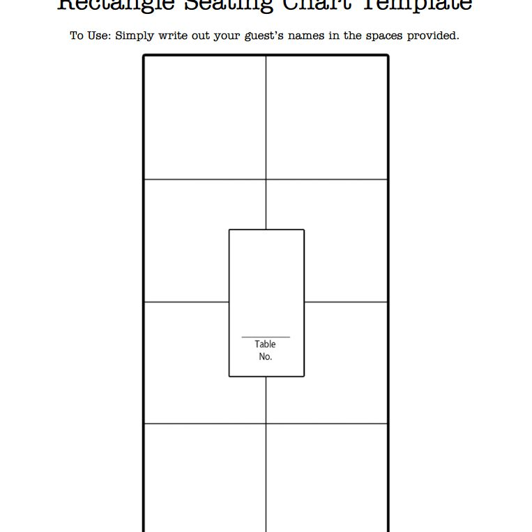 5 Free Wedding Seating Chart Templates, Seating Chart Template Round Tables