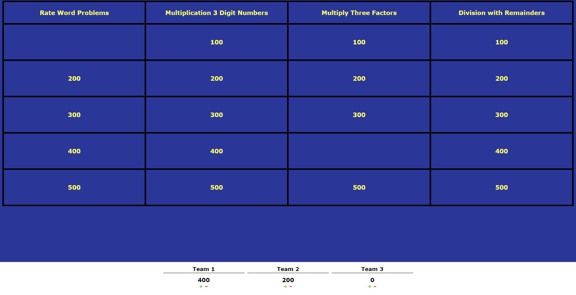 colorful sample jeopardy powerpoint pictures simple