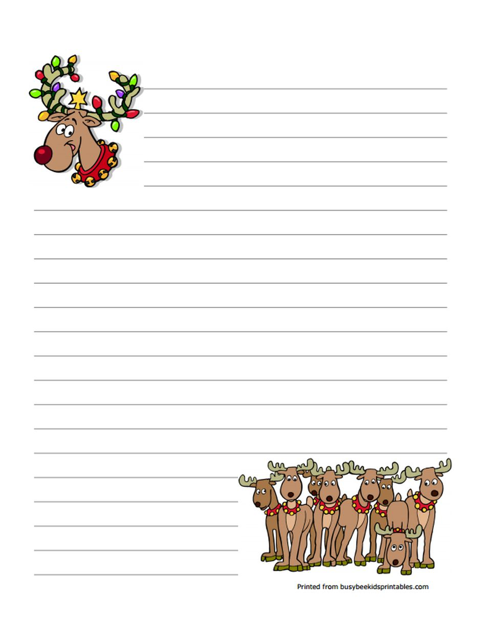 Letterhead 8 pinecones christmas letterhead red foil 85x11 40pk busy bees free christmas stationery spiritdancerdesigns Gallery