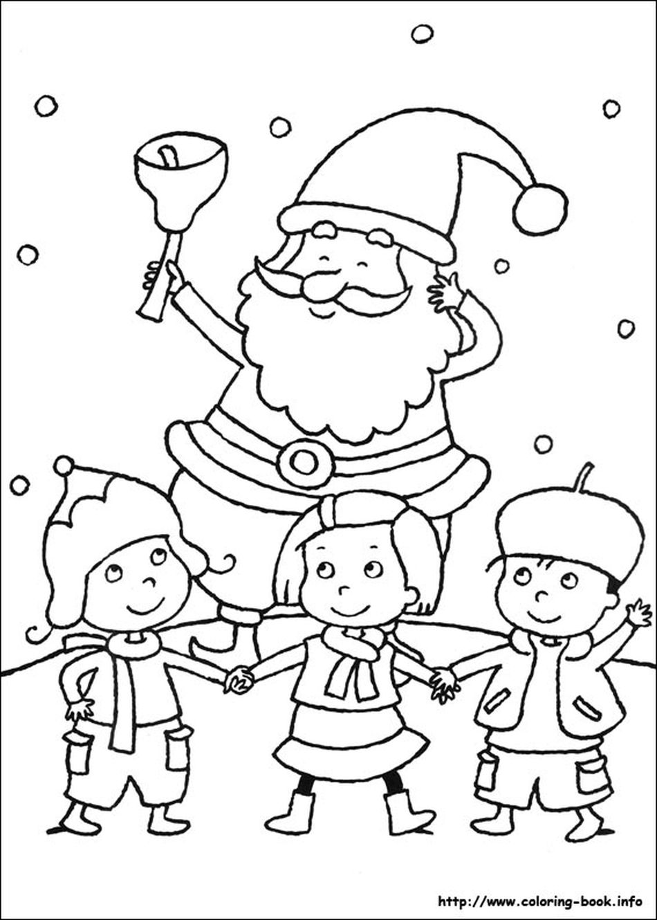 Coloring Books Free Christmas Pages