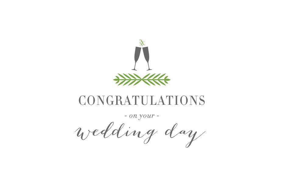 Free Printable Wedding Cards That Say Congrats - Congratulations wedding card template