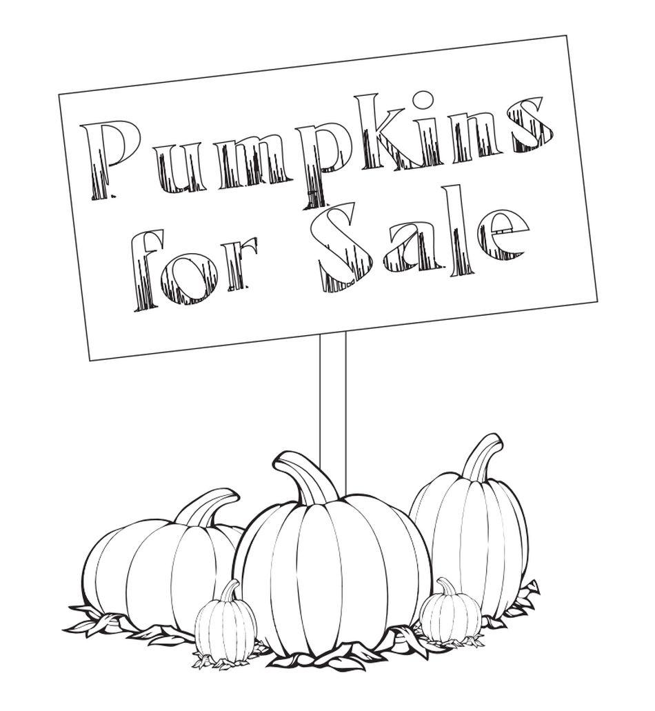 5 little pumpkins coloring page - 195 pumpkin coloring pages for kids