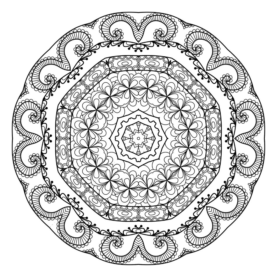 Mandala Coloring Pages For Adults From The Maven Circle
