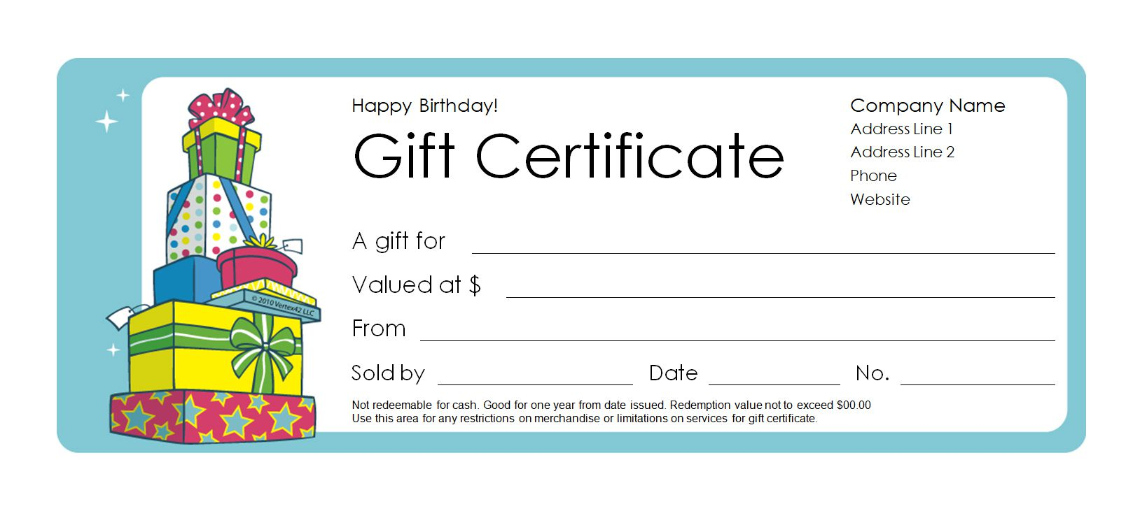 173 free gift certificate templates you can customize solutioingenieria Images