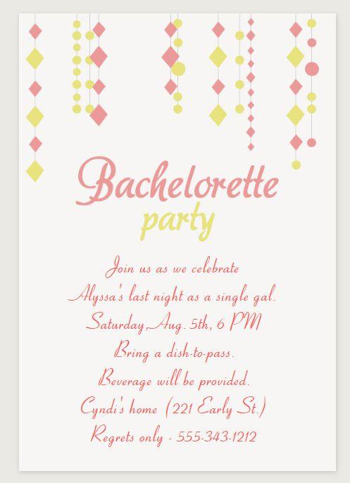 9 free printable bachelorette party invitations solutioingenieria Choice Image