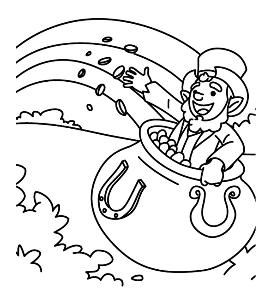 271 free  printable st  patrick u0026 39 s day coloring pages