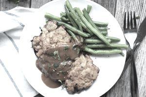 chicken fried steak meal