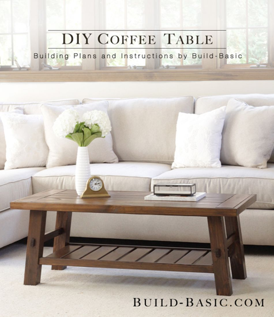 19 free coffee table plans you can diy today Build Your Own Coffee Table Plans