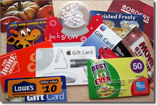 Got Empty Gift Cards? Here Are 12+ Cool Things to Do With Them