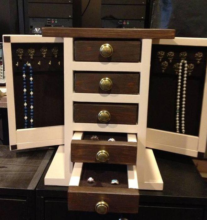 9 free diy jewelry box plans solutioingenieria Choice Image